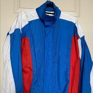 Vintage 90s Windbreaker Nylon Jacket